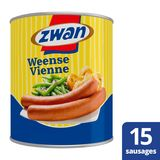 Zwan Worst Weense 860 g