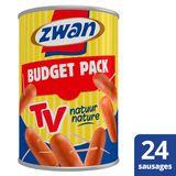 Zwan  Worst  TV Budget Aperitiefhapjes 410 g