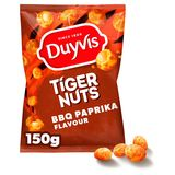 Duyvis Crac A Nut Pinda's Tiger Bbq Paprika Flavour 150g