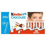 Kinder Chocolate 16 Bâtonnets 200 g