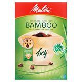 Melitta 1 x 4 Filtres à Café Bamboo 80 Pièces