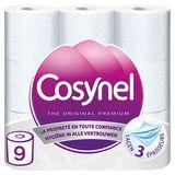 Cosynel The Original Premium Wit 3 Lagen Toiletpapier 9 Rollen