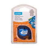 DYMO LetraTag Recharges Etiquettes en plastique 12 mm x 4m Blanc