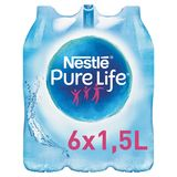 NESTLE PURE LIFE® Plat Bronwater 6 x 1.5 L