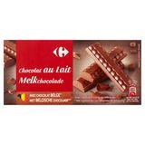 Carrefour Melkchocolade 2 x 200 g