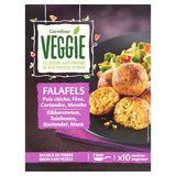 Carrefour Veggie Falafels Kikkererwten Tuinbonen Koriander Munt 200 g
