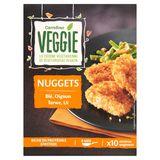 Carrefour Veggie Nuggets Tarwe, Ui 200 g