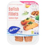SoFine SoFish Fillets Salmon Style 2 x 75 g