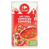Carrefour Classic' Soupe Tomates avec Boulettes 480 g