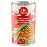 Carrefour Classic\u2032 Soep Italiaanse Tomaten met Balletjes 480 g