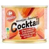 Carrefour Worstjes Cocktail 14 Stuks 200 g