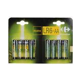 Carrefour 8 Alkaline Batterijen LR6-AA