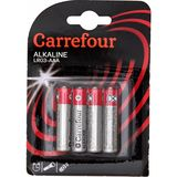 Carrefour 4 Piles Alcalines LR03-AAA