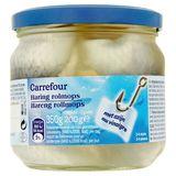 Carrefour Hareng Rollmops au Vinaigre 2-4 Pièces 350 g