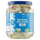 Carrefour Rolmops Filets au Vinaigre 660 g