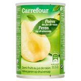 Carrefour Demi-Fruits au Jus de Raisin 410 g