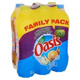 Oasis Multifruits Family Pack 6 x 2 L