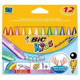 Bic kids etui de pastels (12x)