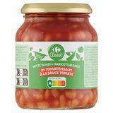 Carrefour Haricots Blancs à la Tomate 316 g