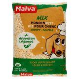 Malva Mix Honden Rijst Gepoft + Groenten 1 kg