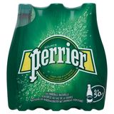 PERRIER® Bruisend Natuurlijk Mineraalwater met Toevoeging van Koolzuurgas 6 x 0.5 L