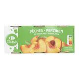 Carrefour Perziken in Schijven op Siroop 3 x 225 g