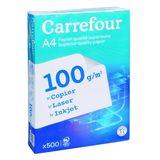 Carrefour Papier pour imprimante 500 feuilles A4  100G