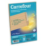 Carrefour 15 enveloppes 162x229 mm