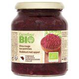 Carrefour Bio Chou Rouge aux Pommes 360 g