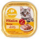 Carrefour Terrine Rijk aan Konijn 100 g