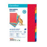 Carrefour 12 Tabbladen A4 - Kleurrijk