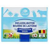 Carrefour Boter Ongezouten 250 g