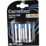 Carrefour 2 Alkaline Batterijen I-Tech LR14-C