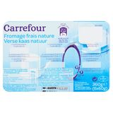 Carrefour Verse Kaas Natuur 0% VG 6 x 60 g