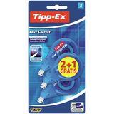 TIPP-EX 2+1 Rubans correcteur Easy Correct 12Mx4,2mm