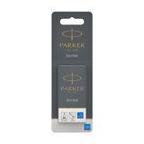 Parker Cartouches encre Quink (2x5) Bleu