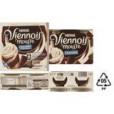 Le Viennois Liégeois Mousse Chocolade 4 x 90 g