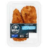 Carrefour Filets de Cabillaud Panés 220 g