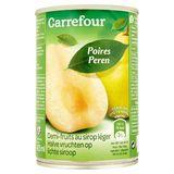 Carrefour Peren Halve Vruchten op Lichte Siroop 412 g