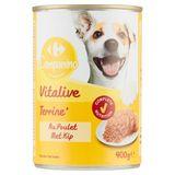 Carrefour Paté Rijk aan Kip 400 g
