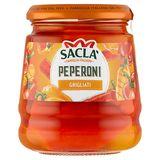 Saclà Poivrons grillés en huile de tournesol 290 g