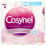 Cosynel The Original Premium Roze 3 Lagen Toiletpapier 9 Rollen