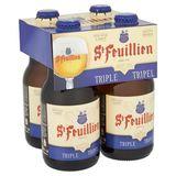 St Feuillien Belgisch Abdijbier Tripel Flessen 4 x 33 cl
