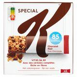 Kellogg's Special K Pure Chocolade Krokante Repen 6 x 21,5 g
