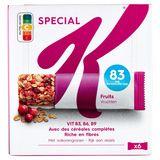 Kellogg's Special K Krokante Repen Rode Vruchten 6 x 21,5 g