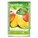 Carrefour Perziken op Druivensap 410 g