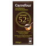 Carrefour De Banketbakkers Dessert 52% Cacao 200 g