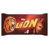 LION Chocoladerepen 6 x 42 g