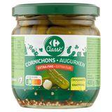 Carrefour Cornichons à Croquer Extra-Fins 400 g