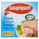 Saupiquet Tonijn in Eigen Nat 185 g